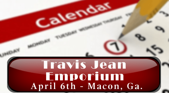 Image of Featured scheduled event Travis Jean Signing