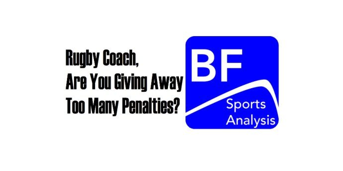 Rugby Coaches giving away too many penalties
