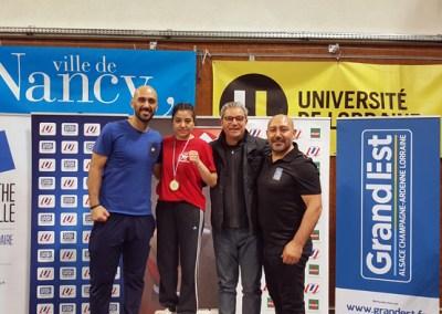 Championnat de France universitaire à Vandoeuvre