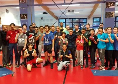 Les entraineurs du Ring Club Romillon à Vandoeuvre