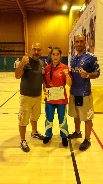 Championnat d'Europe Jeune à Loverval en Belgique