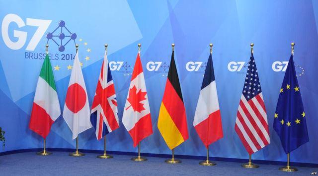 g7 flaggen