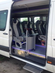 VW crafter 20 seats