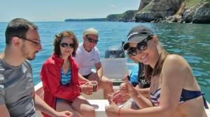 Куба либре на лодка в Каварна