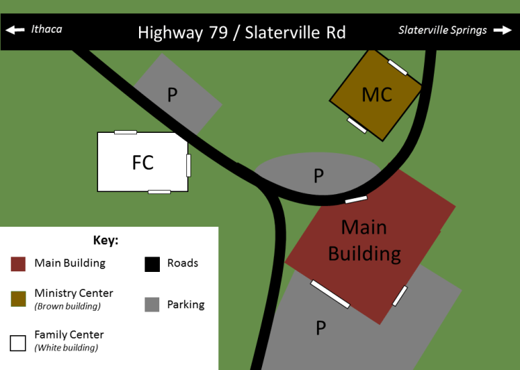 Bethel Grove Campus Map