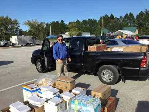 councilman delivered meals to two districts