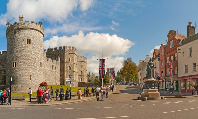 View of Windsor Castle, United Kingdom