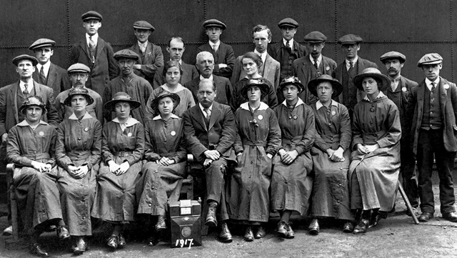Women in War - British Gas Business