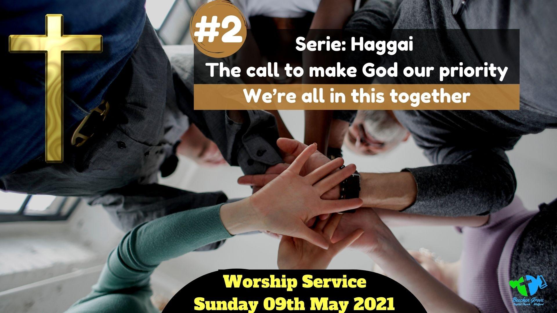 Worship Service 09th May