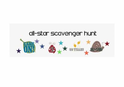 All Star Scavenger Hunt