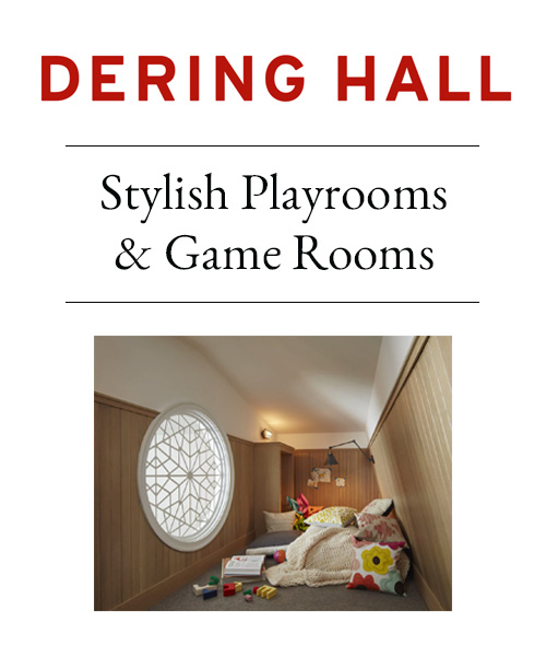 Dering Hall - Stylish Playrooms and Game Rooms
