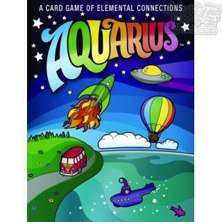 Aquarius (水瓶座)(英)_主遊戲_桌遊_卡牌屋桌上遊戲