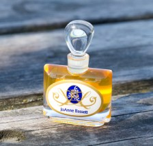 Marie Antoinette, JoAnne Bassett. This perfume is one of her precious potions, a lush, spicy floriental with notes of Neroli, Tuberose, rare Bulgarian White Rose Otto, Vintage Jasmine Sambac, Frankincense Noir, Holy Basil, Labdanum, Champa, Lavender, Rhododendron, Ylang Ylang.