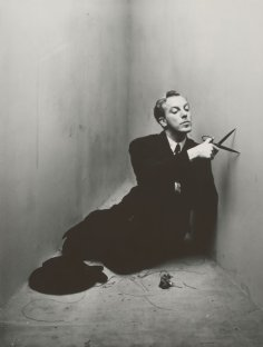 Jacques Fath photographed for Irving Penn's Corner Portraits, March 1948