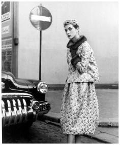 Rose Marie Reid in Jacques Fath Paris 1953, Photo Regina Relang via PleasurePhoto.wordpress.com