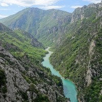 France- Provence Alps : Verdon Gorge, the Grand Canyon of Europe - 50 photos.