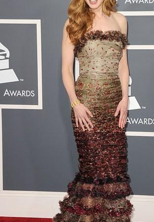 Los mejores vestidos de los Grammy