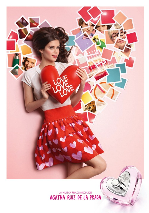 Love Love Love, la nueva fragancia de Agatha Ruiz de la Prada