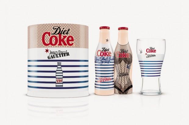 Jean Paul Gaultier diseña la nueva Diet Coke