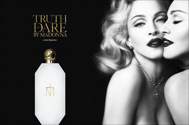 Truth or Dare, la nueva fragancia de Madonna