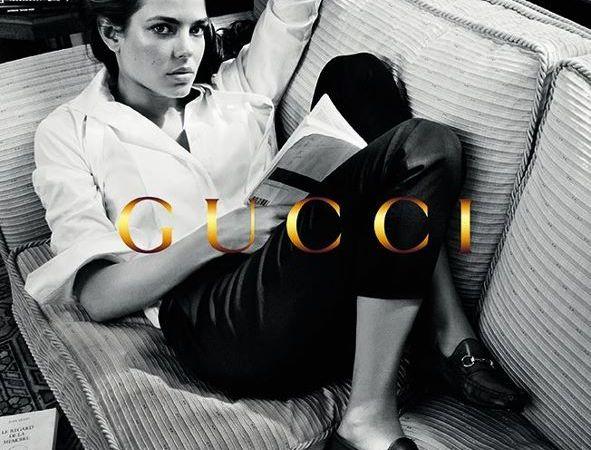 Carlota Casiraghi vuelve a ser imagen de Gucci