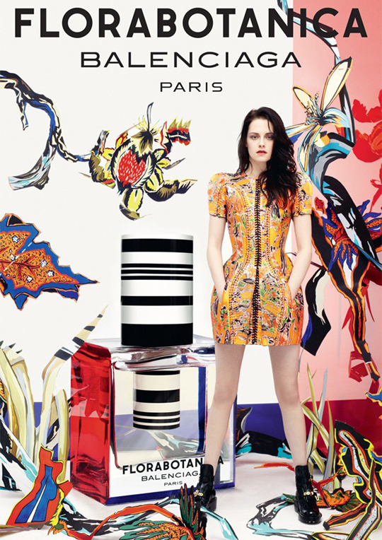 Primer Vistazo: Kristen Stewart para Florabotanica de Balenciaga