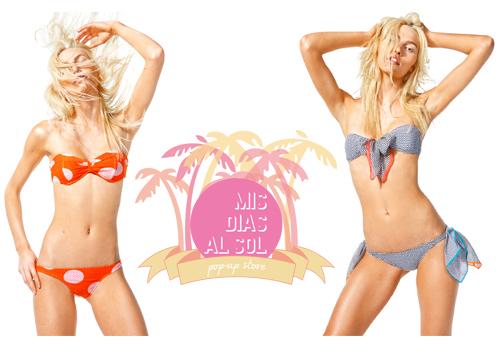 Bikinis y bañadores en Mis Días al Sol