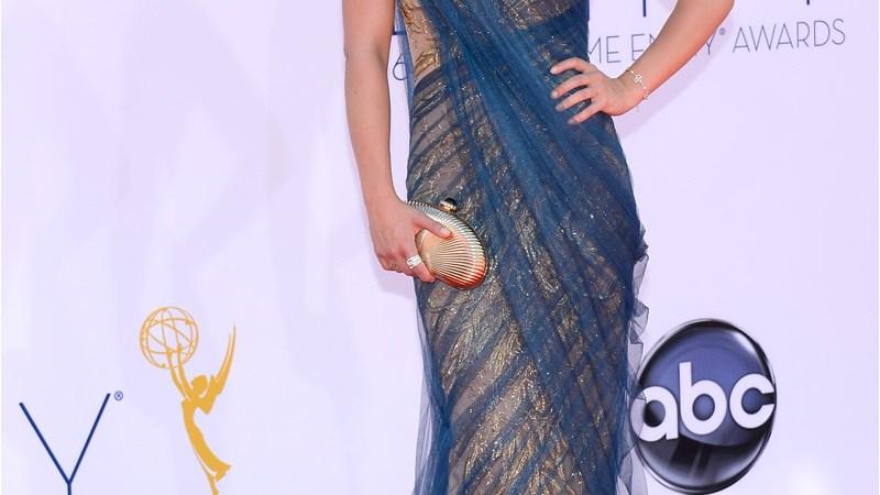 Acordes y desacordes en los vestidos de los Emmy 2012