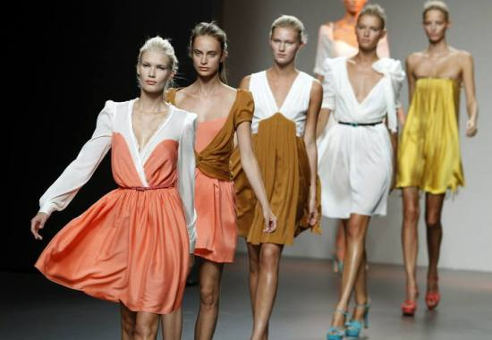 Desfile en la Mercedes Fashion Week