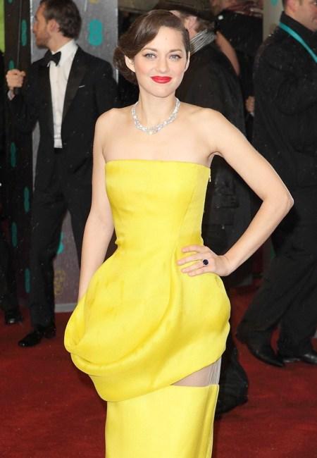 Marion Cotillard en los Premios BAFTA 2013