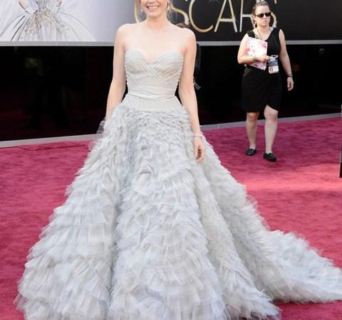 Los vestidos de la Alfombra Roja de los Premios Oscar 2013