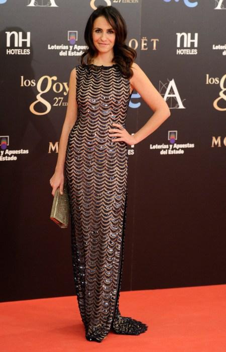 Melanie Olivares en Los Goya 2013