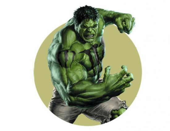 Hulk con sponsor