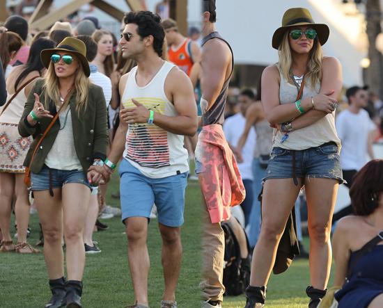 Hilary Duff en Coachella 2013