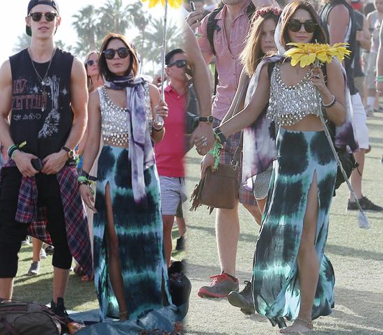 Vanessa Hudgens en Coachella 2013
