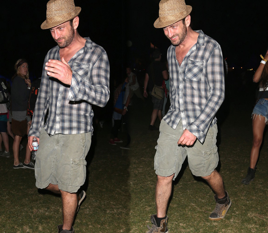 Gerard Butler en Coachella 2013
