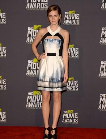Los vestidos de los MTV Movie Awards 2013