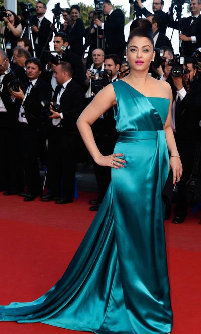 Aishwarya Rai en Cannes 2013