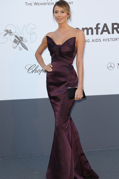 Stacy Keibler en Cannes 2013