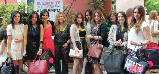 Mi grupo en la Beauty Party