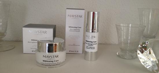 Línea Whitening Care de Maystar