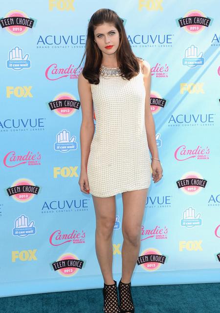 Alexandra Daddario en Teen Choice Awards 2013