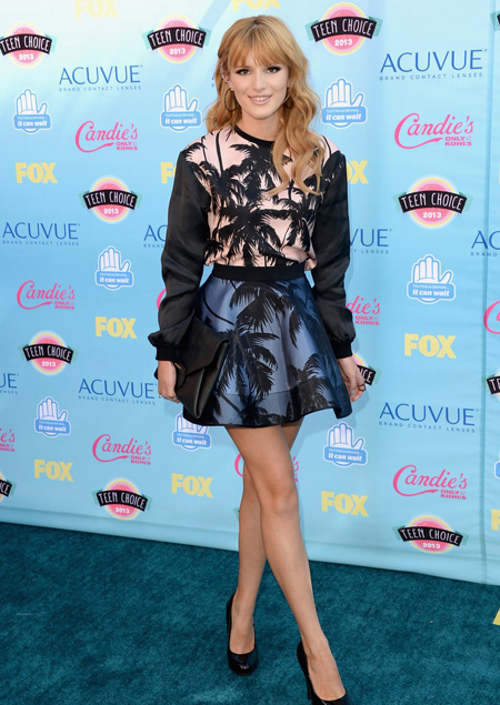 Bella Thorne en Teen Choice Awards 2013