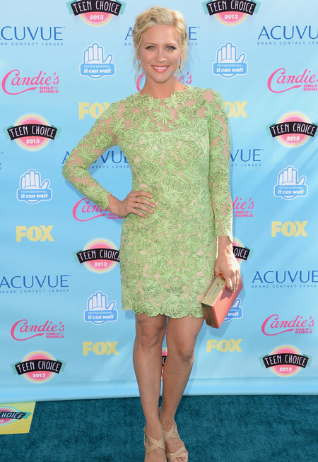 Brittany Snow en Teen Choice Awards 2013