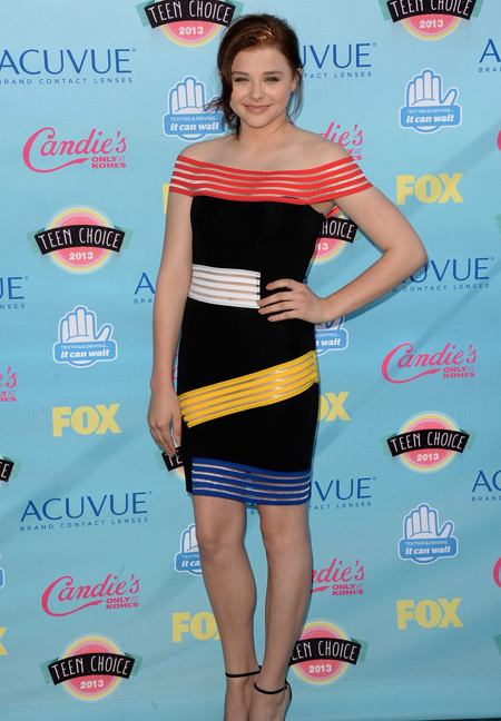 Chloe Moretz en Teen Choice Awards 2013