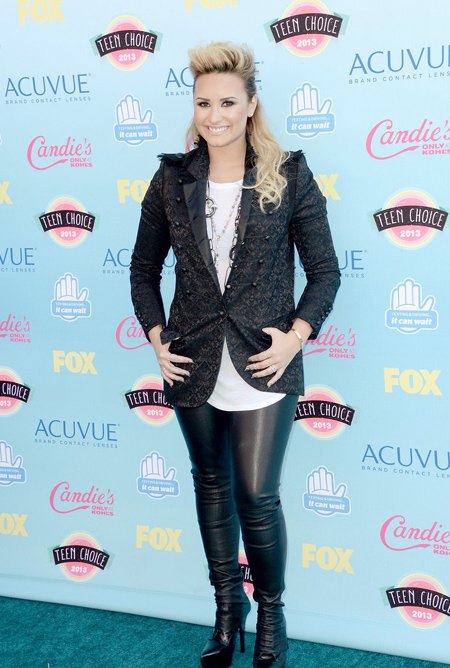 Demi Lovato en Teen Choice Awards 2013