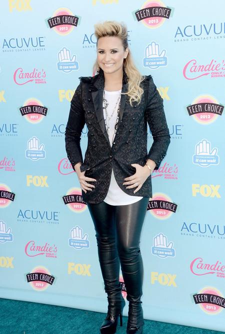 Demi Lovato en Teen Choice Awards 2013