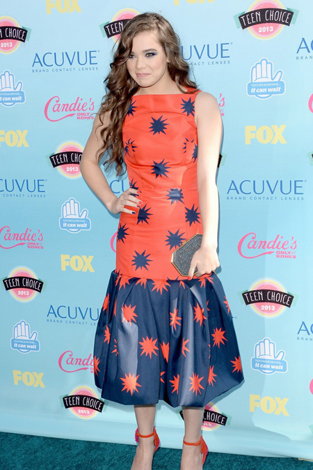 Hailee Steinfeld en Teen Choice Awards 2013