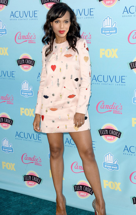 Kerry Washington en Teen Choice Awards 2013