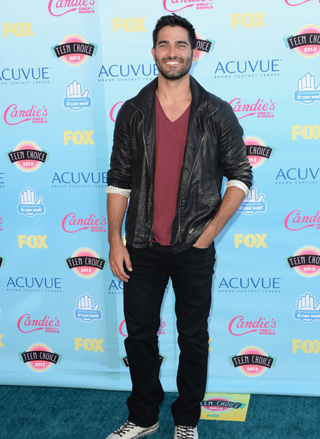 Tyler Hoechlin en Teen Choice Awards 2013